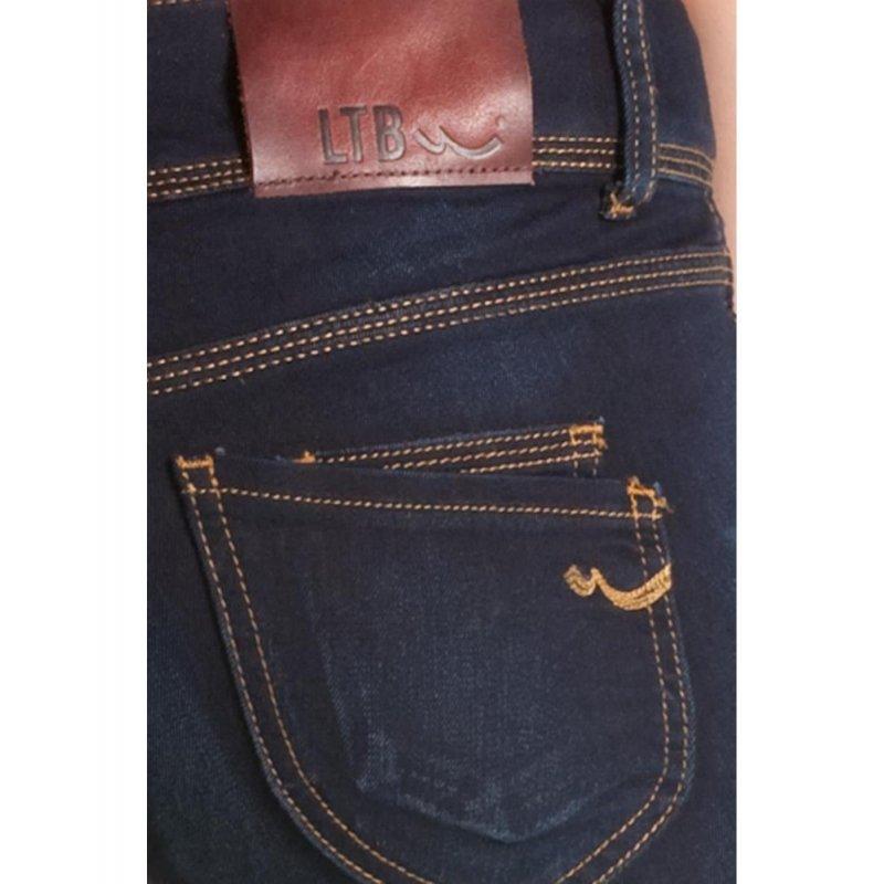 ltb jeans damen paulina damenjeans r hre dark blue used stretchjeans w25 27 l34 39 90. Black Bedroom Furniture Sets. Home Design Ideas