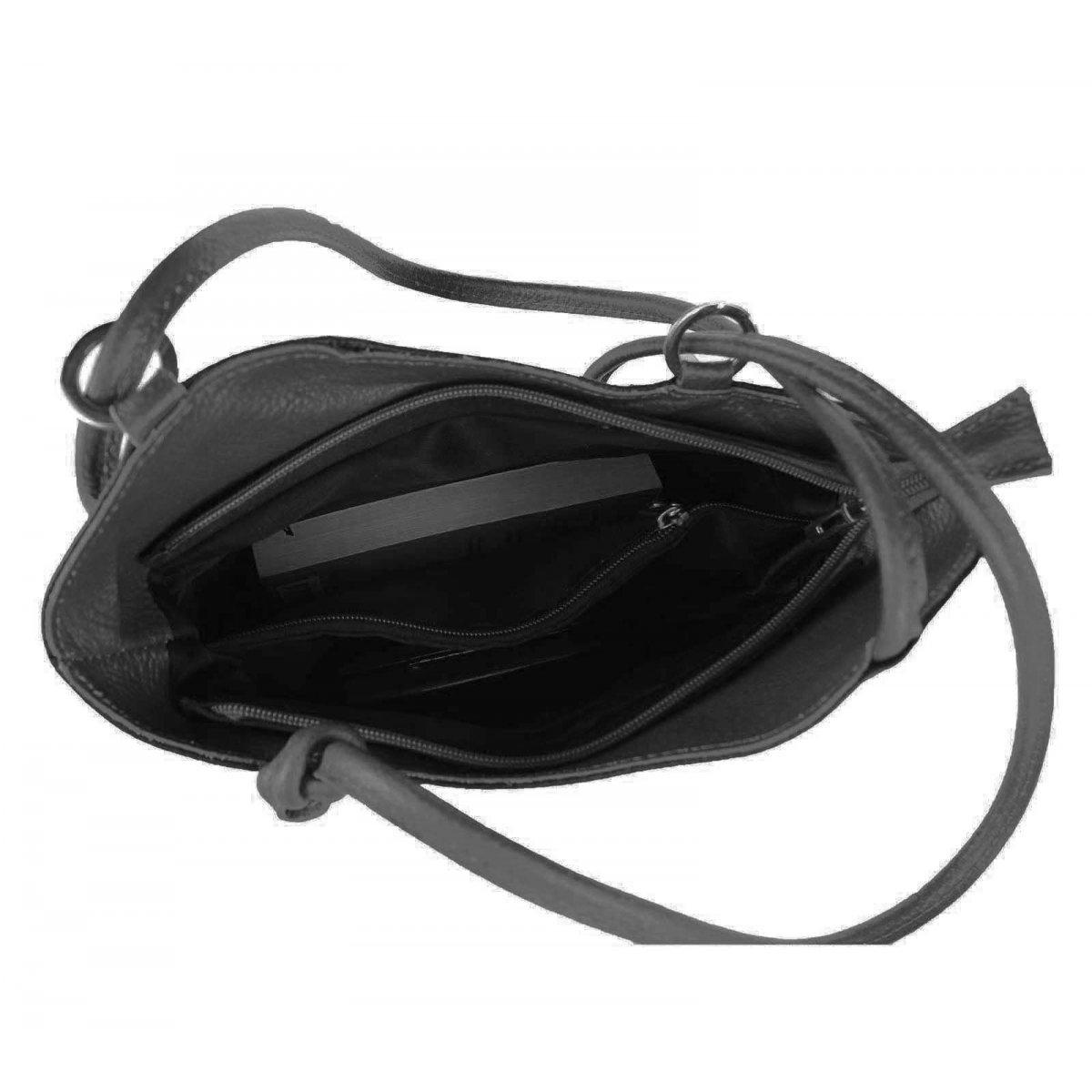 ital damen echt leder rucksack handtasche schultertasche. Black Bedroom Furniture Sets. Home Design Ideas
