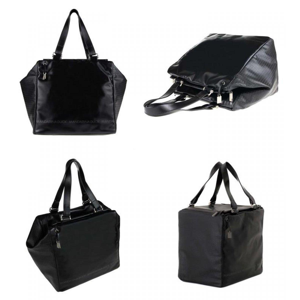 mandarina duck desire pelle pferdeleder koffer handtasche. Black Bedroom Furniture Sets. Home Design Ideas