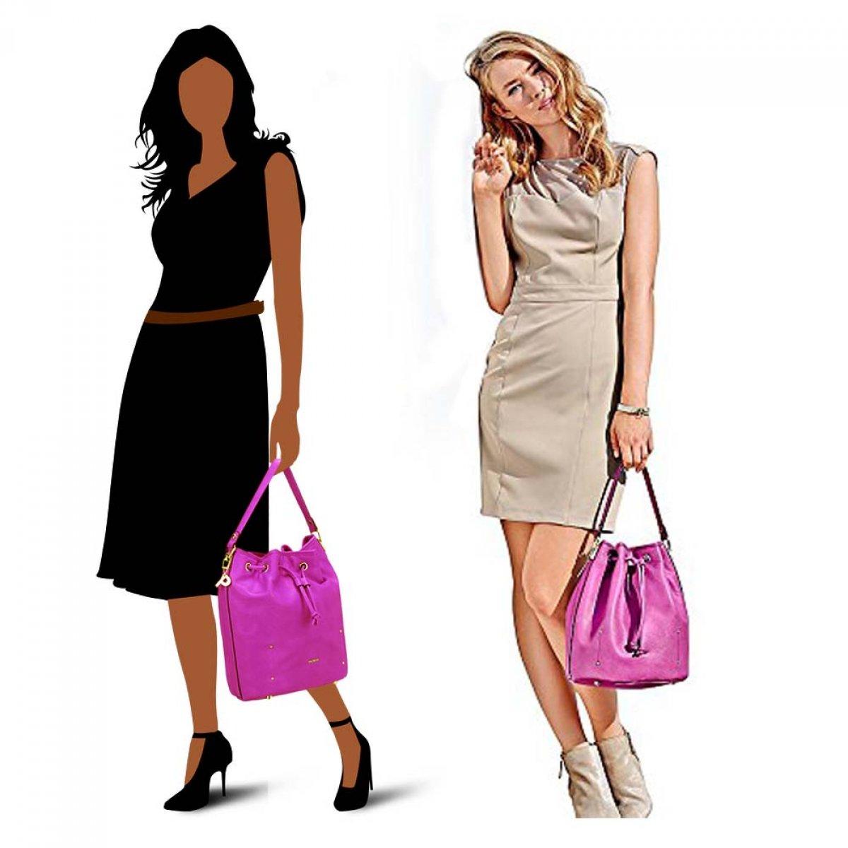picard damen tasche shopper beuteltasche schultertasche henkeltasche umh ngetasche 3. Black Bedroom Furniture Sets. Home Design Ideas