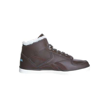 Reebok HAZELBORO M Braun Classic High-Top Leder Damen High Sneaker Winter Schuhe warm gefüttert