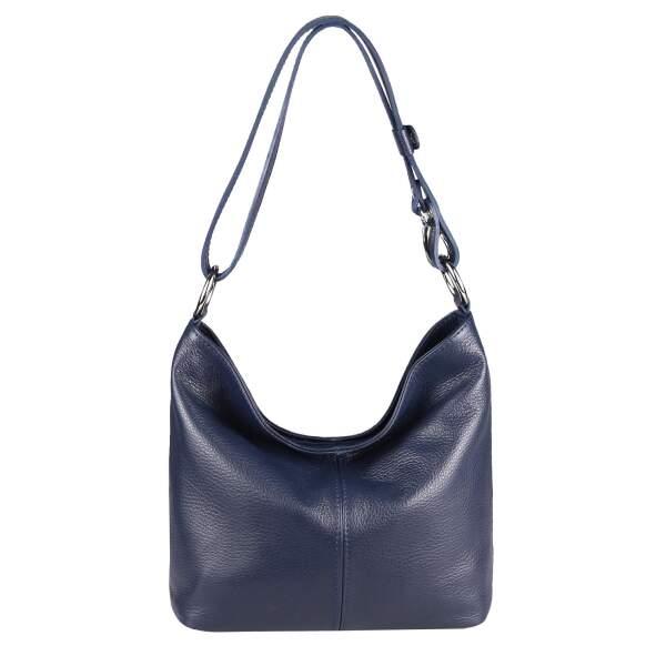 32d75d26b146c Made in Italy Damen Echt Leder Tasche Shopper Hobo-Bags Schultertasche  Umhängetasche Handtasche Henkeltasche Ledertasche ...
