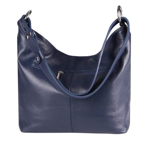 43b704980e6e5 ... Made in Italy Damen Echt Leder Tasche Shopper Hobo-Bags Schultertasche Umhängetasche  Handtasche Henkeltasche Ledertasche ...