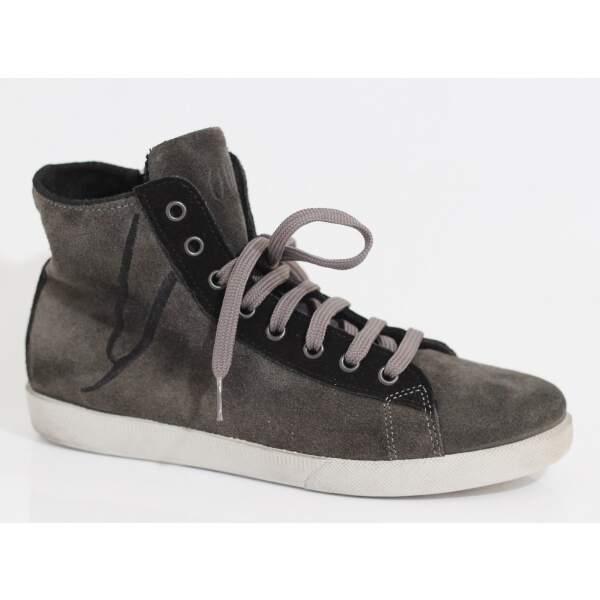 8d8c9e5d065f1 ... Ovye by Cristina Lucchi Wildleder Leder Damen High-Top Sneaker  Used-Look Schuhe ...