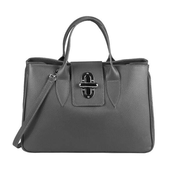 80c77da3a7bb7 ... OBC Made in Italy Damen Echt Leder Tasche Business Shopper Aktentasche  Schultertasche Handtasche Ledertasche Kroko- ...