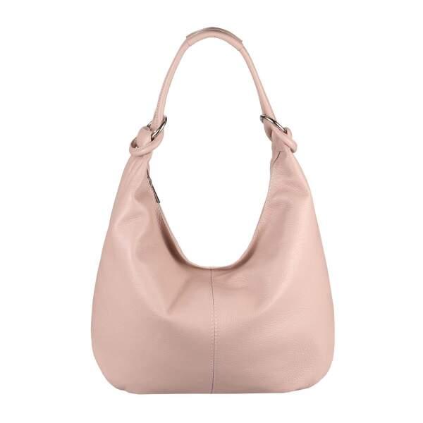 bbd06ba57f0af ... ITALY DAMEN Echt LEDER HAND-TASCHE Schultertasche Shopper Umhängetasche  Beuteltasche Metallic Bag ...