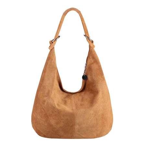 732a301631632a ... Made in Italy Damen XXL Ledertasche Wildleder Shopper Tasche  Schultertasche Umhängetasche Hobo-Bag Beuteltasche ...