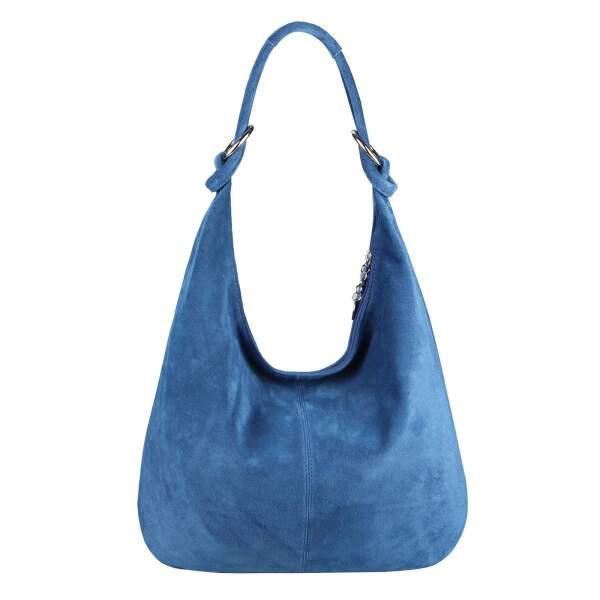 Made in Italy Damen XXL Ledertasche Wildleder Shopper Tasche Daisy73 TSC 175