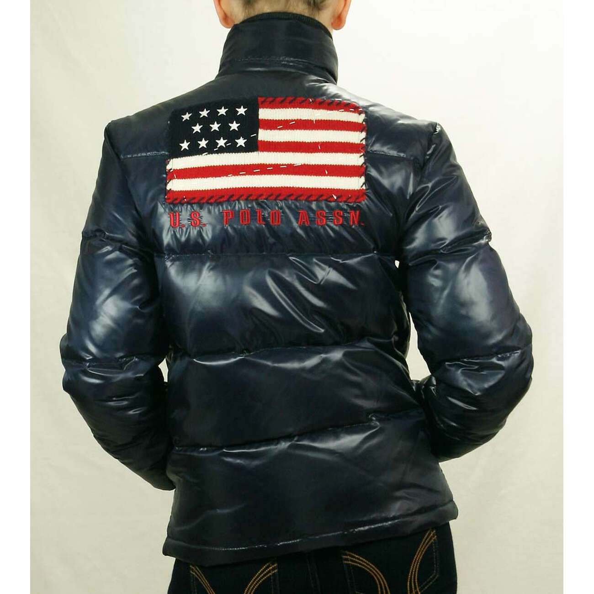 60b06fab1c5 ... US Polo ASSN USA Flagge WinterJacke Jacke Daunenjacke Jacke Steppjacke  ...