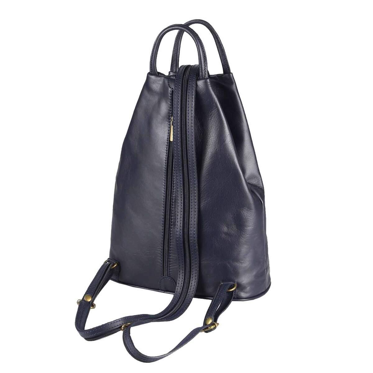 ital damen echt leder rucksack daypack backpack. Black Bedroom Furniture Sets. Home Design Ideas