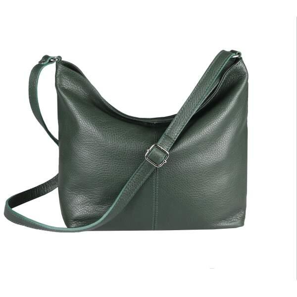MADE in ITALY Damen LEDER TASCHE Umhängetasche Shopper Handtasche DAISY61