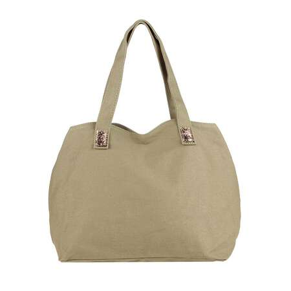 b542e6447a110 ... Moderne Damen ital-design Pailletten Tasche Canvas Handtasche  Henkeltasche Schultertasche Freizeit