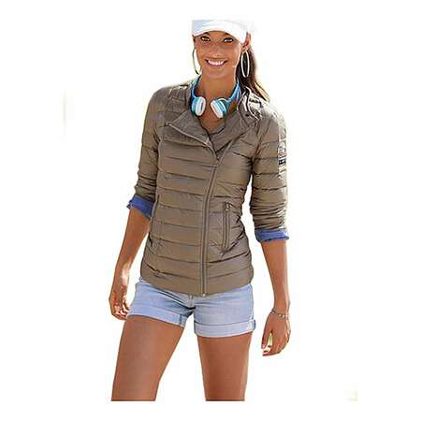 timeless design 9786f 29c24 KangaROOS Damen Jacke Fashion TREND Steppjacke Biker ...