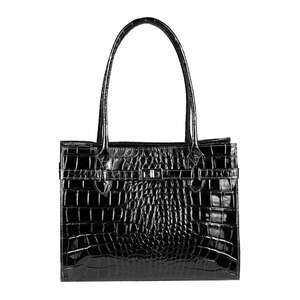 OBC Made in Italy Damen Leder Tasche Businesstasche...
