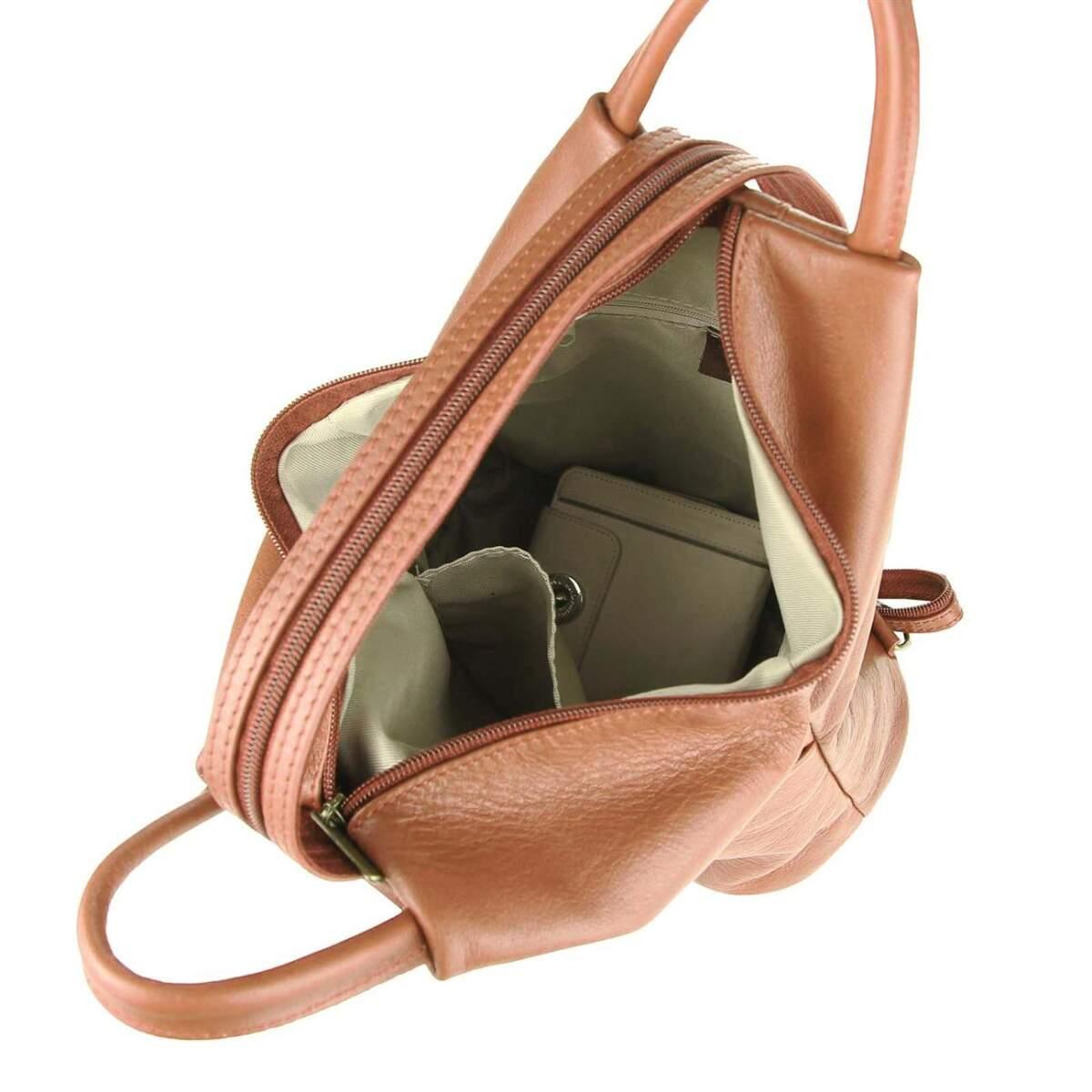 lederrucksack damen rucksack damen leder handtasche nieten damen leder rucksack anfissa damen. Black Bedroom Furniture Sets. Home Design Ideas