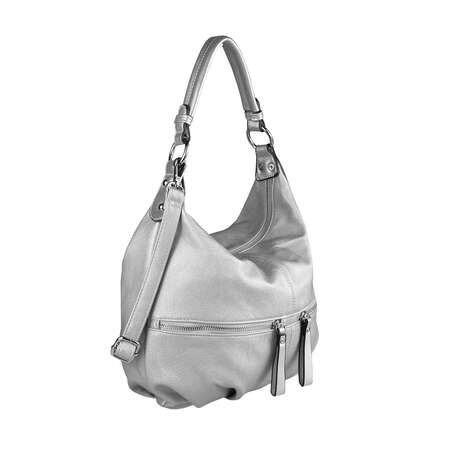 OBC Damen Tasche HANDTASCHE Shopper METALLIC Hobo Bag