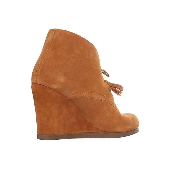 Scholl Damen Leder Schuhe Stiefel Halbstiefel Stiefeletten