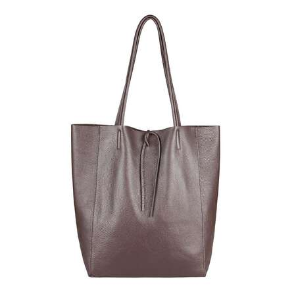 013c2c24c970a ... OBC Made in Italy DAMEN LEDER TASCHE DIN-A4 Shopper Schultertasche  Henkeltasche Tote Bag Metallic ...