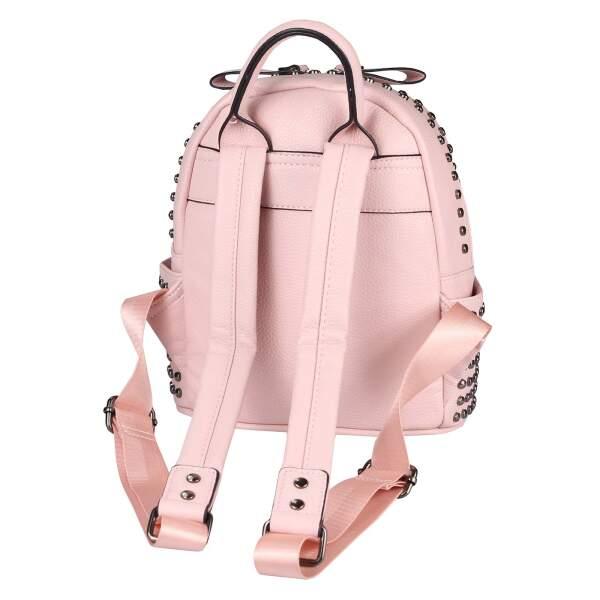 a128693ac1790 ... DAMEN NIETEN RUCKSACK TASCHE Cityrucksack Stadtrucksack Metallic  Backpack Schultertasche Handtasche Umhängetasche Shopper Daypack ...