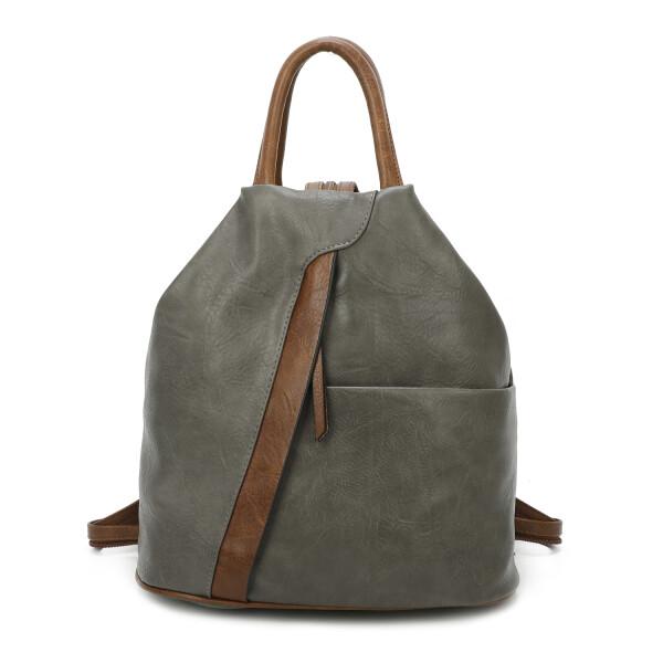 d9a4b921ca76c ... OBC Damen Rucksack Tasche Schultertasche Leder Optik Daypack Backpack  Handtasche Tagesrucksack Cityrucksack ...
