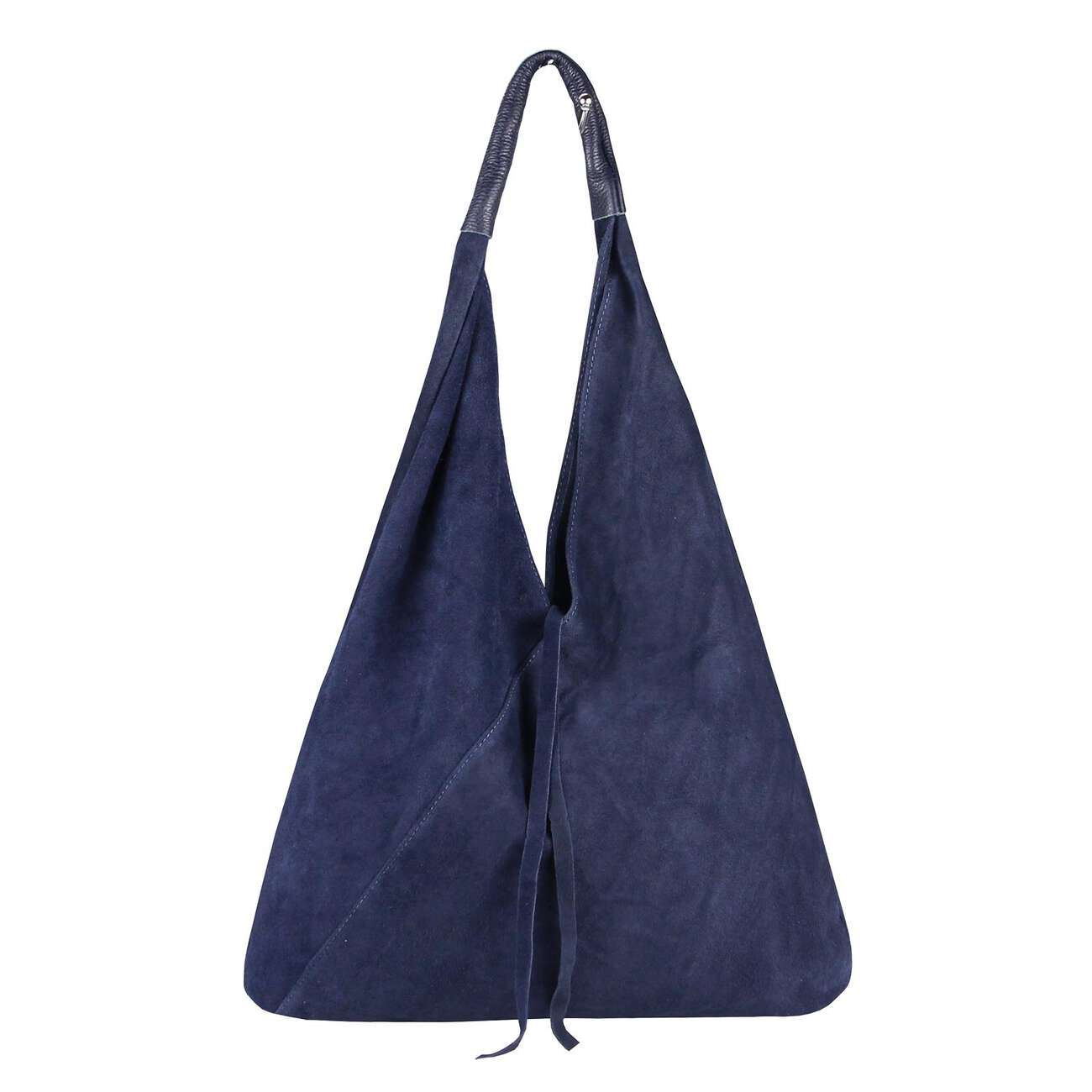 d5558bed8f082 OBC Made in Italy Damen XXL Leder Tasche Handtasche Wildleder Shopper  Schultertasche Hobo-Bag Umhängetasche Ledertasche Beuteltasche Velourleder  DIN-A4