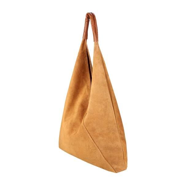 OBC Made in Italy Damen XXL Leder Tasche Handtasche