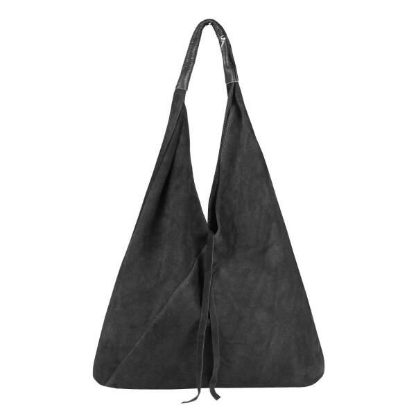 2ef2aa65132cd0 ... OBC Made in Italy Damen XXL Leder Tasche Handtasche Wildleder Shopper  Schultertasche Hobo-Bag Umhängetasche ...