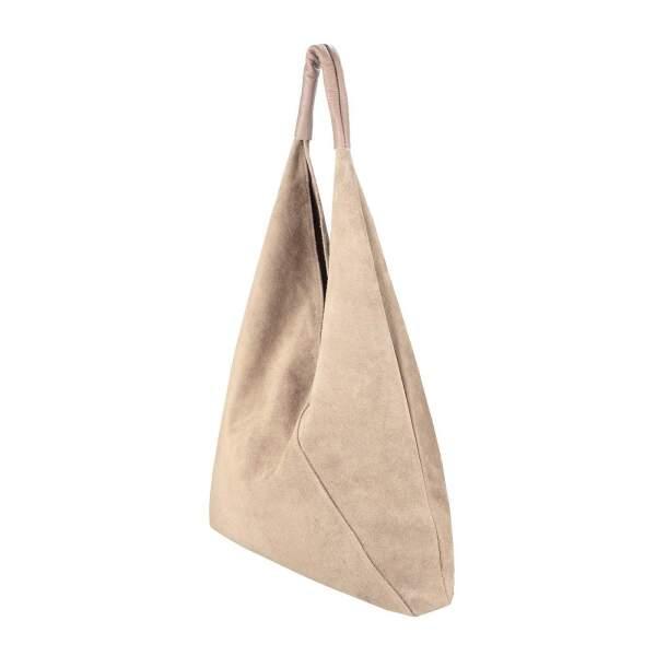 d6b2d6d5363ec ... OBC Made in Italy Damen XXL Leder Tasche Handtasche Wildleder Shopper  Schultertasche Hobo-Bag Umhängetasche ...
