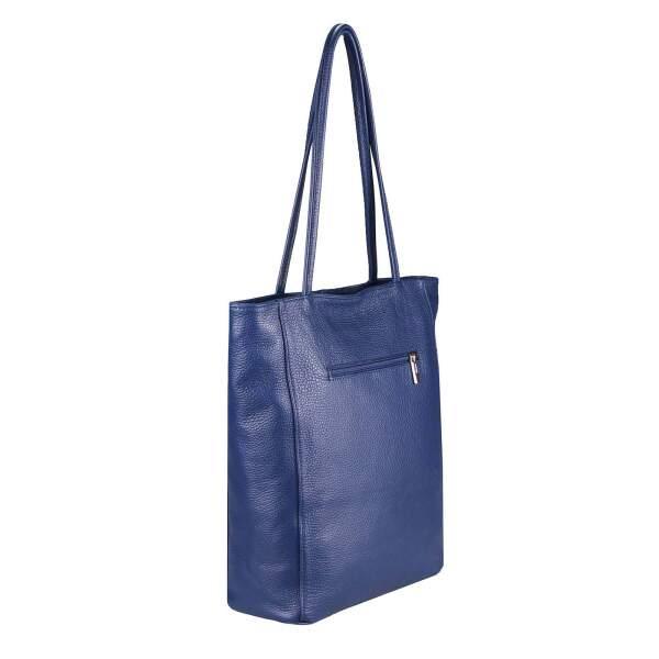 9e4556e0b65f0 ... OBC Made in Italy Damen Echt Leder Tasche Shopper Schultertasche  Henkeltasche Din-A4 Tote Bag ...