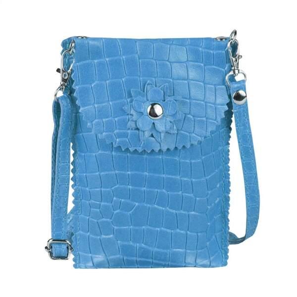 Handytasche Kunstleder Damen Mini Umhängetasche Damentasche Crossbag Neu Trend