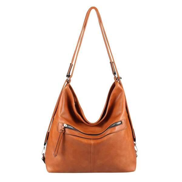 DAMEN 2in1 RUCKSACK Tasche RUCKSACK Backpack Tasche Schultertasche Shopper Bag